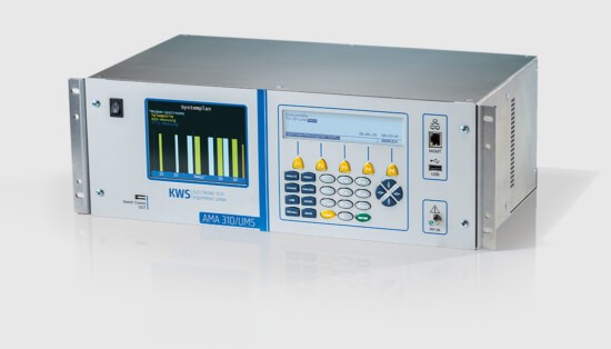 KWS-Electronic AMA 310/UMS: Darstellung Systemplan