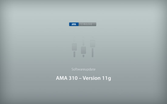 KWS-Electronic AMA 310: Softwareupdate 11g