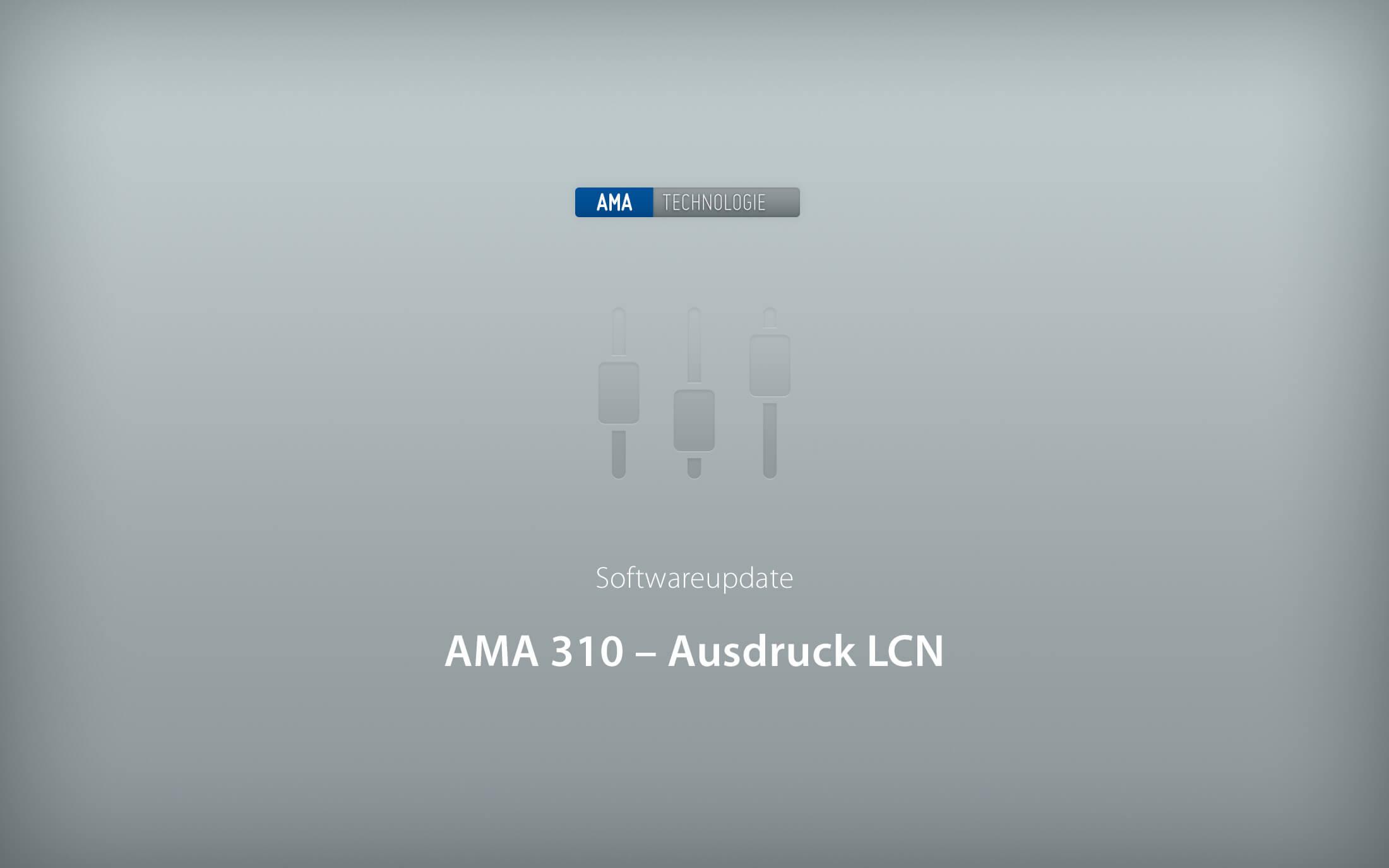 KWS-Electronic AMA 310: Ausdruck der LCN