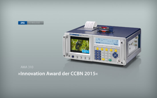 KWS-Electronic: Innovation Award der CCBN 2015
