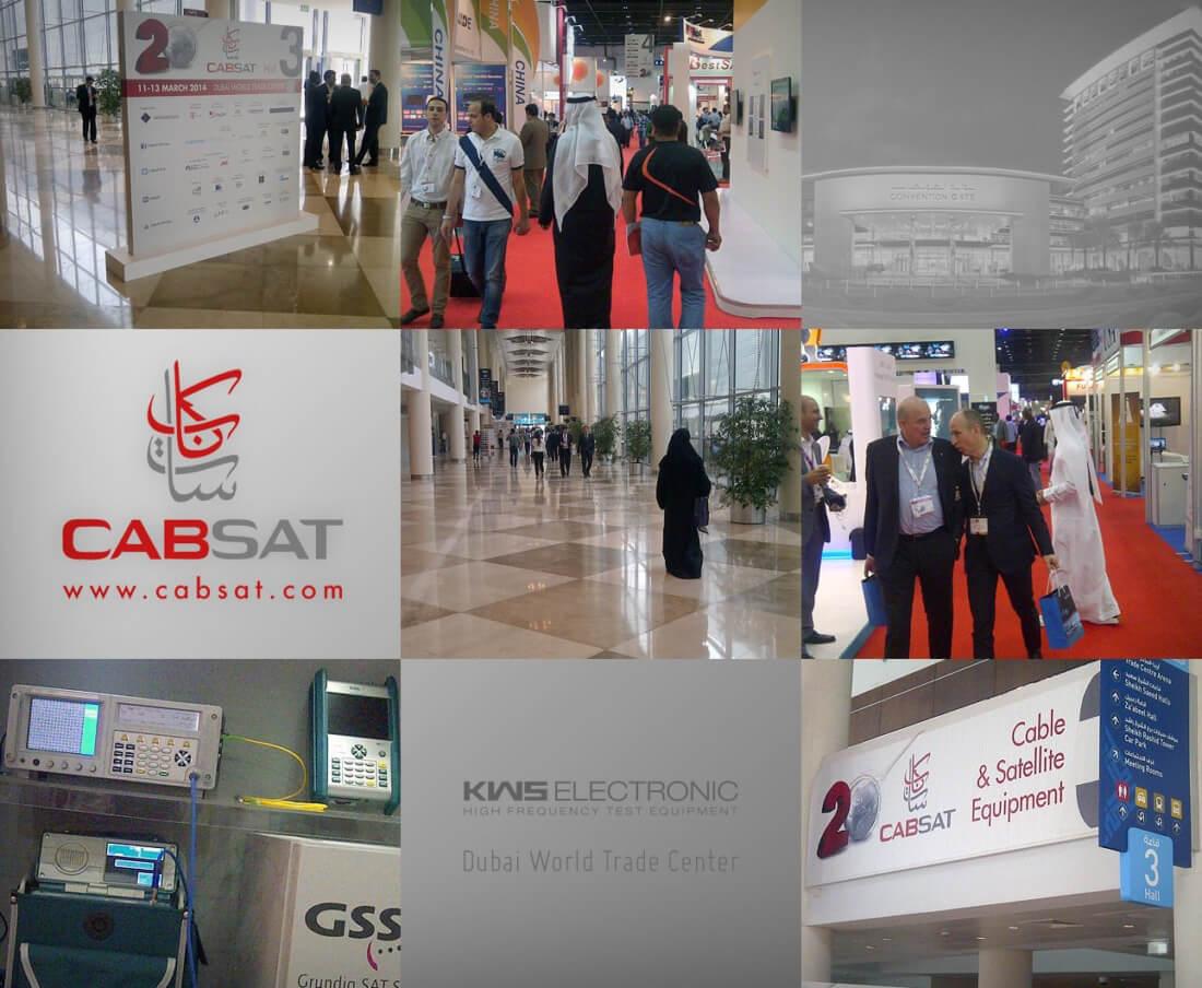 KWS-Electronic: Impressionen CABSAT 2014