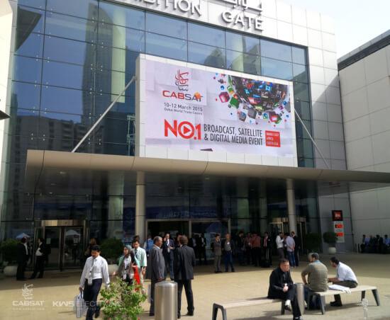 KWS-Electronic CABSAT 2015: Impression 6