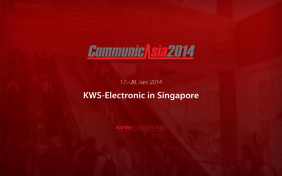 KWS-Electronic auf der CommunicAsia 2014