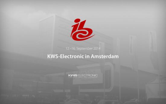 KWS-Electronic auf der ibc2014 in Amsterdam