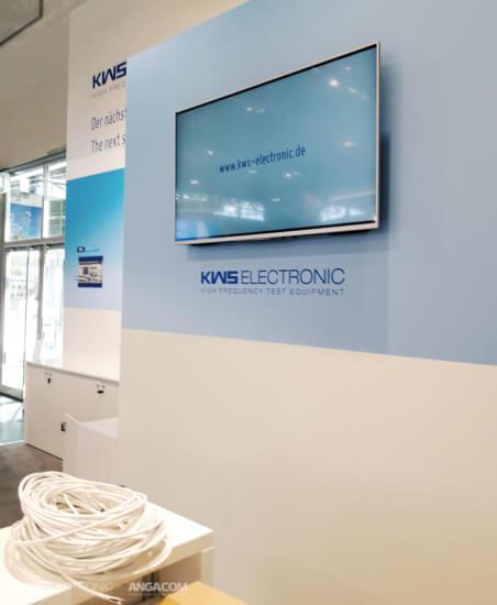 KWS-Electronic auf der ANGA COM 2017 in Köln 07
